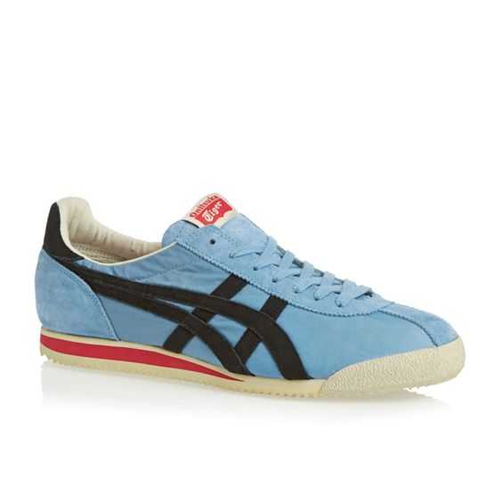 Onitsuka Tiger Trainers - Onitsuka Tiger Tiger Corsair Vin Trainers - Heritage Blue/ Black