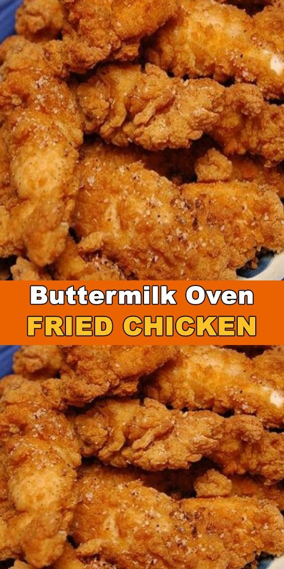 Pin On Oven Baked Buttermilk Chicken
