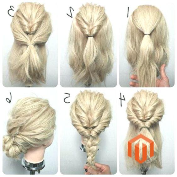 11 Einfach Schritt Fur Schritt Das Beste Frisuren Hochsteckfrisuren Mittellang Selbstgemachte Frisuren Medium Haare