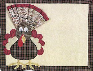 free quilted placemats patterns   Tom Placemat Quilt Pattern by Pam Bono Designs   eBay