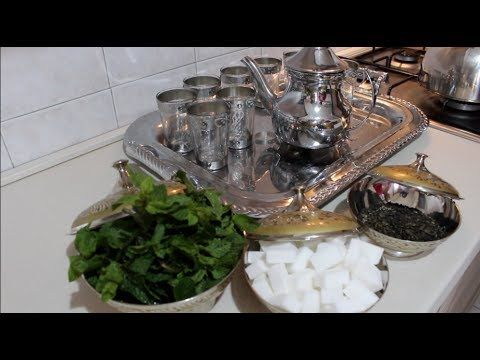 The Alla Menta Marocchino طريقة عمل الشاي المغربي Youtube Make It Yourself
