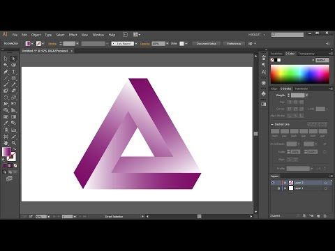 Another Way To Make A Triangle In Adobe Illustrator By Adding And Subtracting Points Find Your Hidden Illustrato Illustration Adobe Illustrator Typography