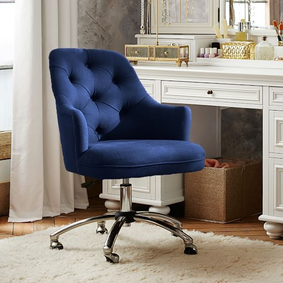 Twill Tufted Desk Chair Tufted Desk Chair Cheap Desk Chairs Swivel Chair Living Room