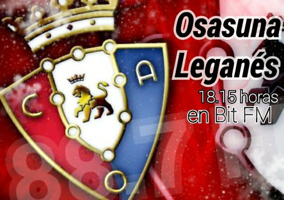 Todos los partidos de Osasuna en Bit FM