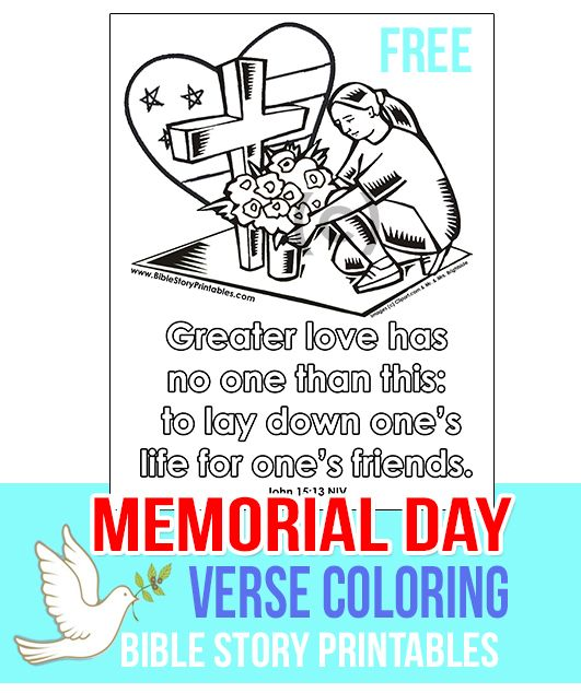 Memorial Day Bible Quotes: Coloring, Bible Verses And Memorial Day On Pinterest