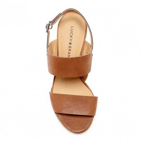 $79 Almond Heeled Sandal   Veneesha x Lucky Brand   Free Shipping on Orders $50+