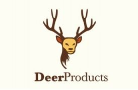 Diseño logotipo emprea dedicada a la venta de cuernos de ciervo.
