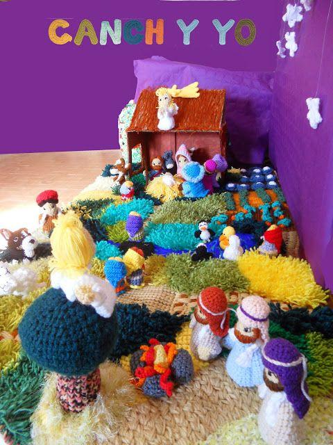 Portal de belen crochet amigurumis pinterest crochet - Portal de belen pinypon ...