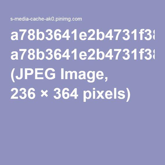 a78b3641e2b4731f388ab625d73dbd77.jpg (JPEG Image, 236×364 pixels)