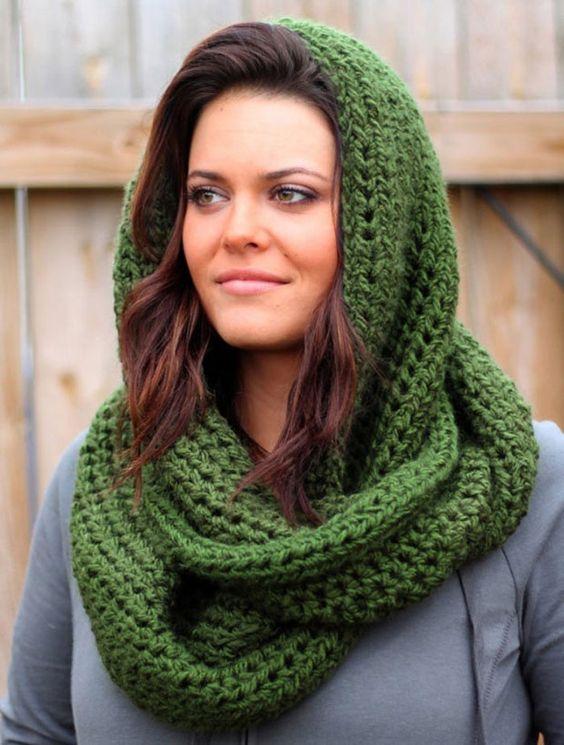 Вяжем шарф-снуд спицами: новинки и схемы вязания 2016-2017 года