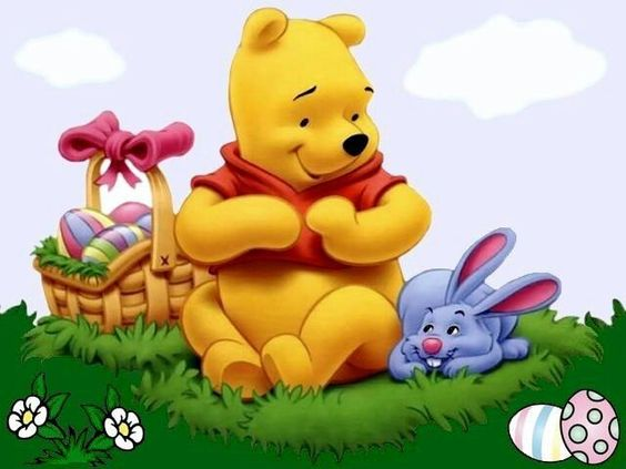 Happy Easter from Pooh and Friends ! | Silly Old Winnie ...