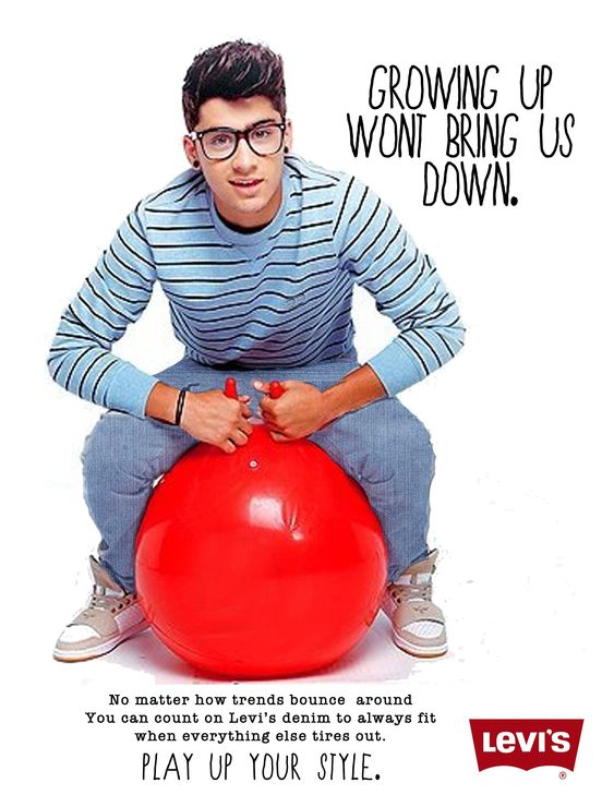 This ad uses visual hierarchy well while also promoting the product and catching the eye. The red ball contrasts very well with the white background and the blue clothing.