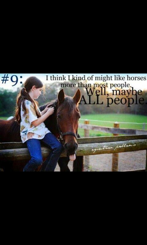 #9 horseback problems