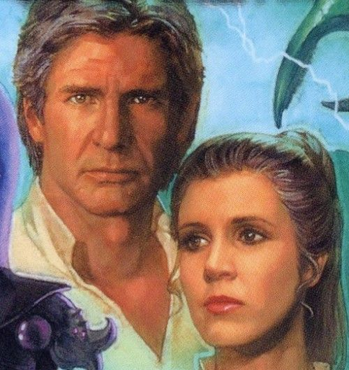 Han and Leia - A nice interpretation of when they're older. I wonder how they'll look in Star Wars VII.