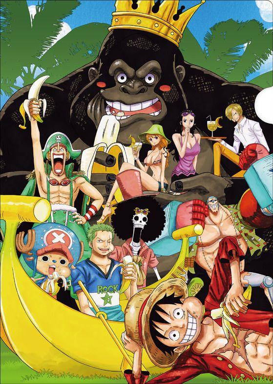 Monde De Pirates One Piece : monde, pirates, piece, Based, Piece, Color, Gorilla, Anime,, Pictures,, Luffy