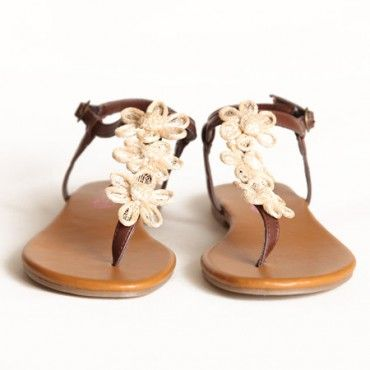 fun outdoor summer wedding foot wear