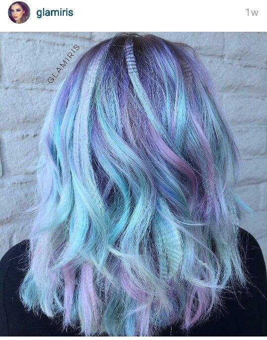 Pretty Hair Colors Colorful Hair With Images Light Purple