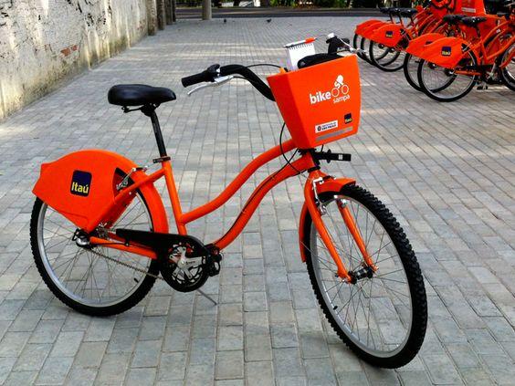 Brasil - São Paulo - itau bike sampa (3000 bikes)