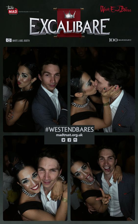 West End Bares - Excalibare #WestEndBares #PhotoBooth #MADTrust #AfterParty