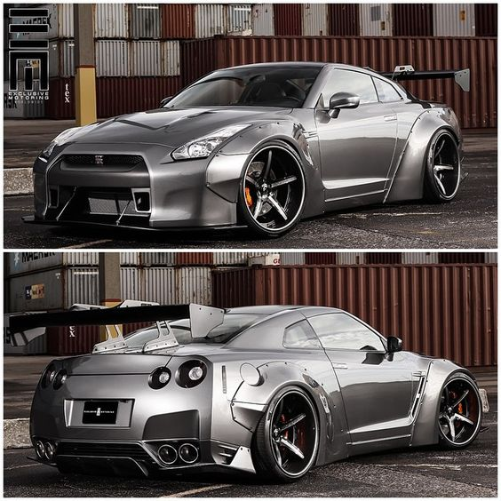 """Liberty Walk Nissan GTR! This I believe is Man Made Wonder! This is my Dream Car always has been. Always will be!"