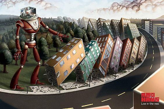 imobiliario: Robot MaxHaus 1