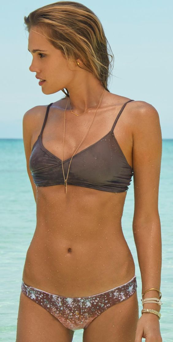 L Space Celestial Chloe Wrap #Bikini ~ 20 Great Bikinis and Swimsuits for Your Summer Lookbook - Style Estate -