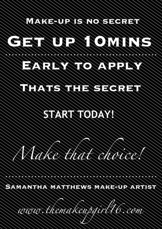 Do it!!! Start the day ans you mean to go on!'n