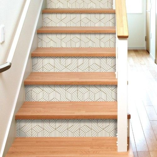 12 Creative Ways To Use Removable Wallpaper Hayneedle Wallpaper Stairs Peel And Stick Wallpaper Wallpaper Accent Wall