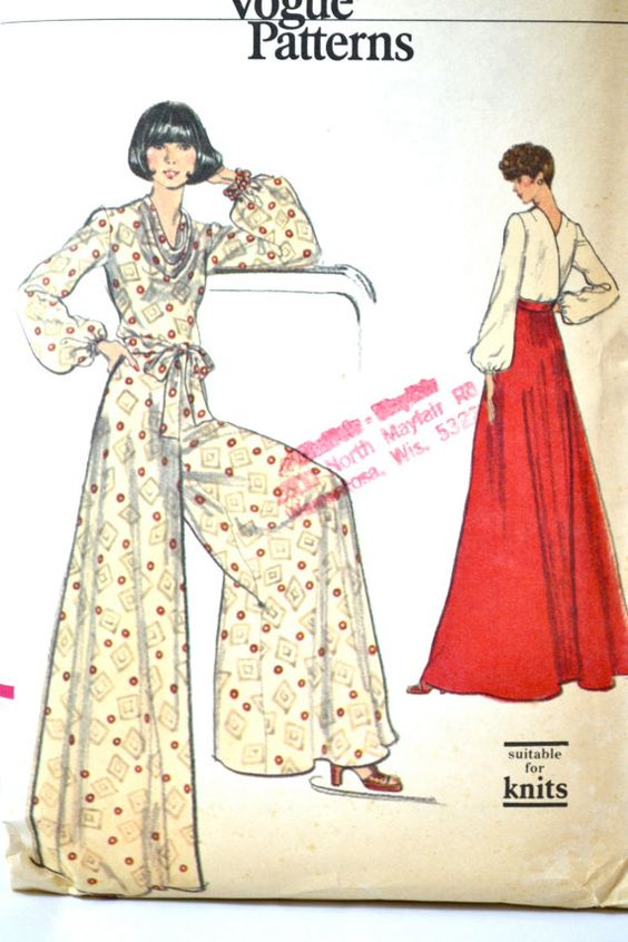 Vintage, Palazzo pants and Maxis on Pinterest
