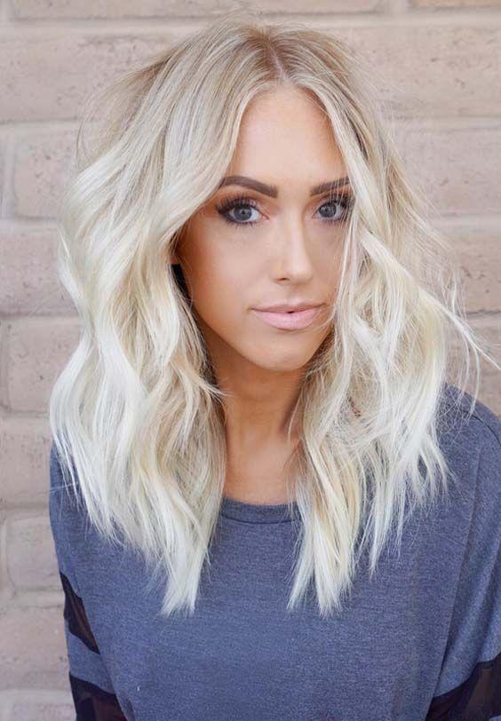 70 Prettiest Platinum Blonde Hair Color Ideas In 2018 Frisuren