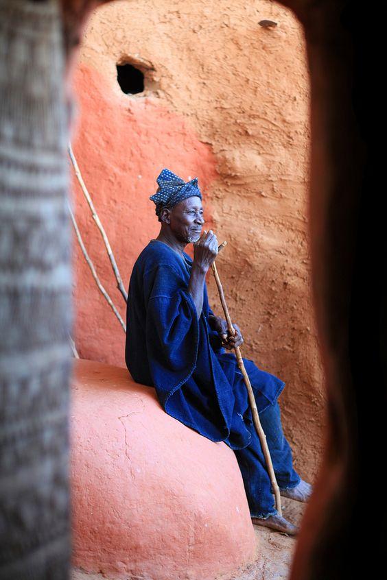 Africa | Chef Hogon of Endé. Dogon country, Mali | ©marsoyann, via flickr