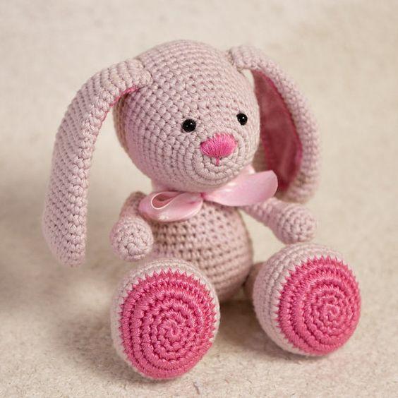 Tutorial Iniciacion Amigurumi : Pattern bunny amigurumi crochet