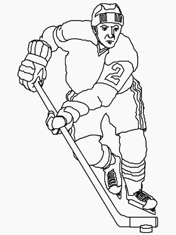 free printable sports coloring pages hockey signs pinterest 37a698a0384f3196c527ed1dbfa976d7