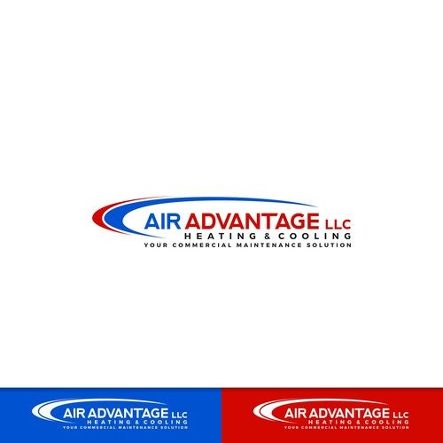 Air Advantage Llc Heating Cooling New Bold Logo For Commercial Heating And Cooling Company Comme Commercial Heating Company Logo Design Logo Design Contest