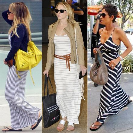 Celebrities wearing maxi dresses - Celebrity Fashion - Pinterest ...