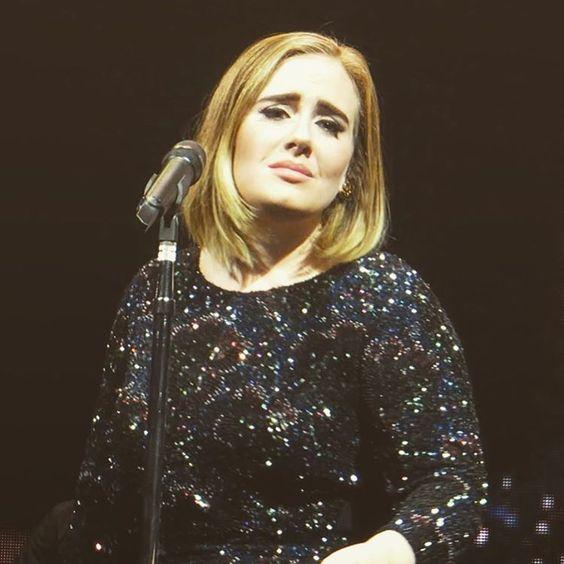 Adele performing at 'Talking Stick Resort Arena', Phoenix, AZ (Aug. 16)