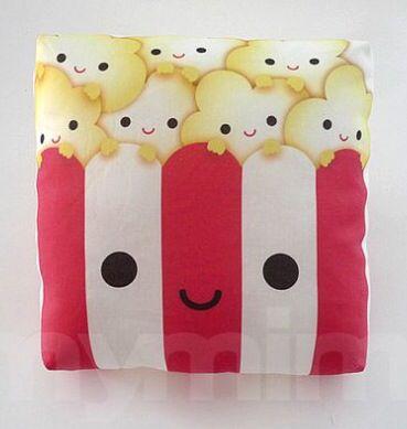 Cute popcorn pillow Cute Cushions/Pillows Pinterest Popcorn and Pillows