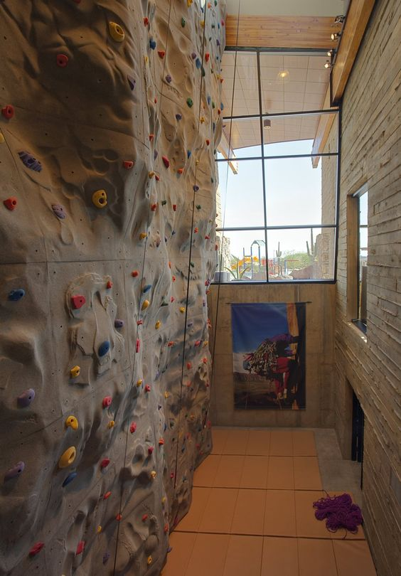exterior cool home climbing wall designs for your hobby residental wonderful home interior design