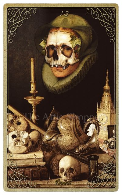 Death The Attic Shopping Trading Company Catalog » Halloween Tarot