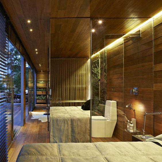 Pocket House: Quartos Rústico por Cristina Menezes Arquitetura