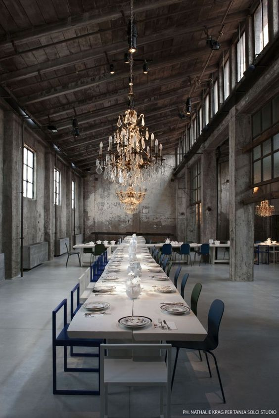 Diseño de interior restaurante. Carlo e Camilla restaurant in Milan - Vogue Living: