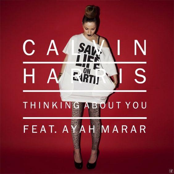 Calvin Harris, Ayah Marar – Thinking About You (single cover art)