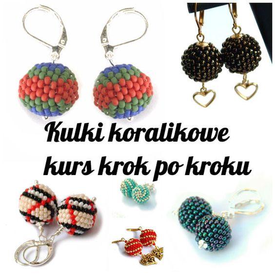 Kurs – kulki koralikowe ściegiem peyote czyli beaded balls: Beads Peyote, Beads Tutorial, Beads Jewery, Beaded Beads2, Beading Tutorials