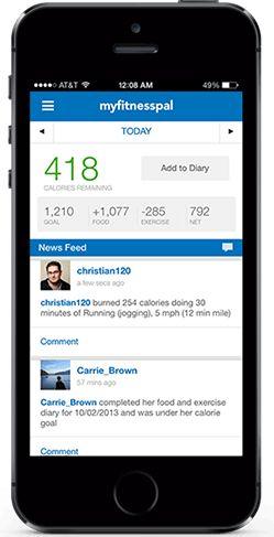 Contador de Calorias gratuito, periódico de diet e exercício | MyFitnessPal.com