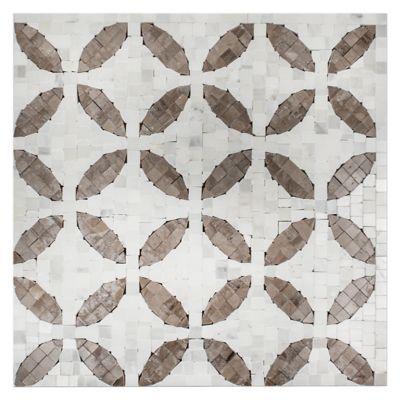 Decatur Taupe Mosaic 12 x 12 in - Marble Mosaics Tile - The Tile Shop