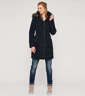 Damen Steppmantel in dunkelblau - Mode günstig online kaufen - C&A