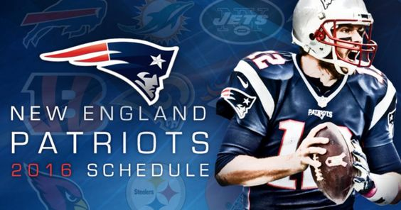 New England Patriots Games Schedule 2016. The official place of the NFL 2016 New…