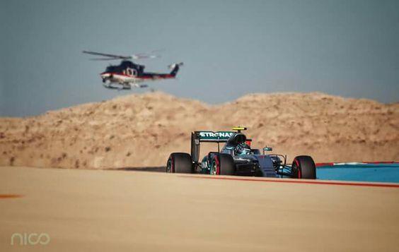 Nico Rosberg Bahrain GP 2016
