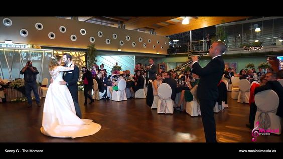 Kenny G - The Moment QUIQUE & EMMA Baile nupcial