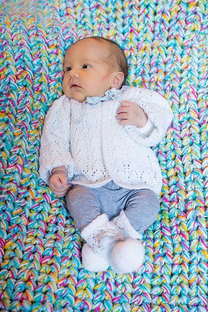 Ravelry: 9658Textiles' Chunky Unicorn blanket: